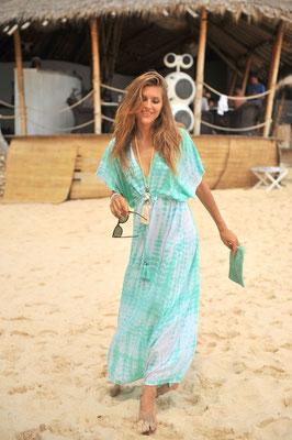 "Dress ""Ava"", 100% Viskose, azure, in Gr L/XL,   104,90€"