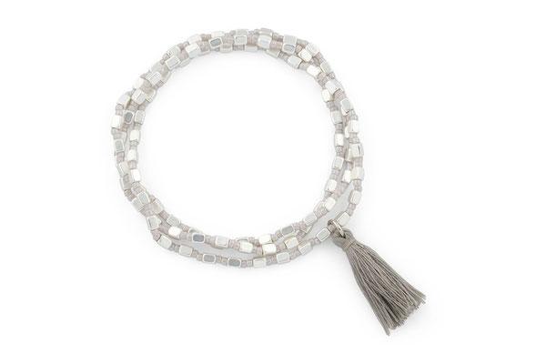 "Armband ""City Lights"" silver  18€"
