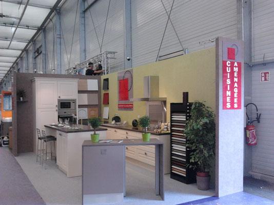Salon de l'habitat à Tours 2011 - Cuisine Prix Net