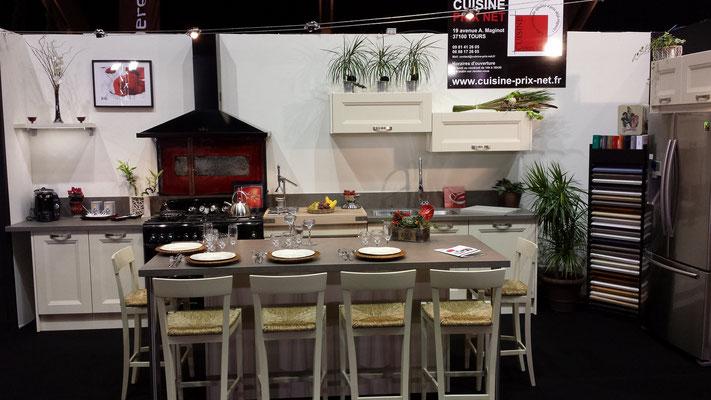 Salon de l'habitat à Tours 2013 - Cuisine Prix Net