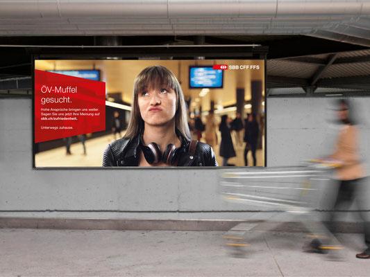 Kampagnensujets, die als Banner oder auf Plakaten eingesetzt werden.