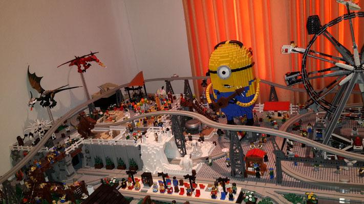 Lego Monorail MoRaSt Traben-Trarbach  Freizeitpark Minion