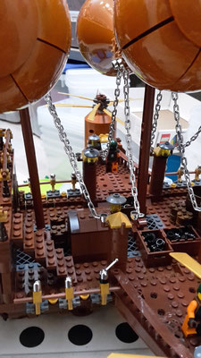 Lego Steampunk Fliegender Händler Luftschiff Details