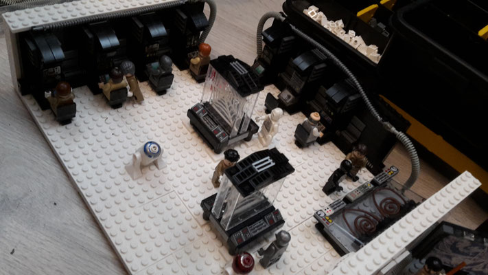 LEGO Star Wars Hoth Rebellen Echo Basis Kommando Zentrale