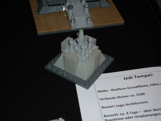 Lego Star Wars Jedi Temple in Architecture Styl Micro