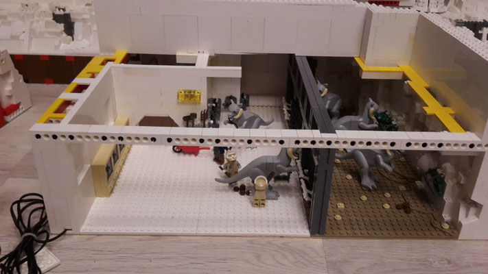 LEGO Star Wars Hoth Rebellen Echo Basis Werkstatt