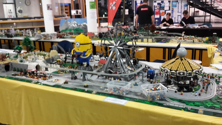 Lego Monorail MoRaSt Freizeitpark Star Wars Zoo