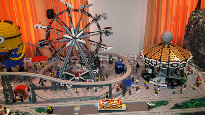 Lego Monorail MoRaSt Traben-Trarbach  Freizeitpark Riesenrad