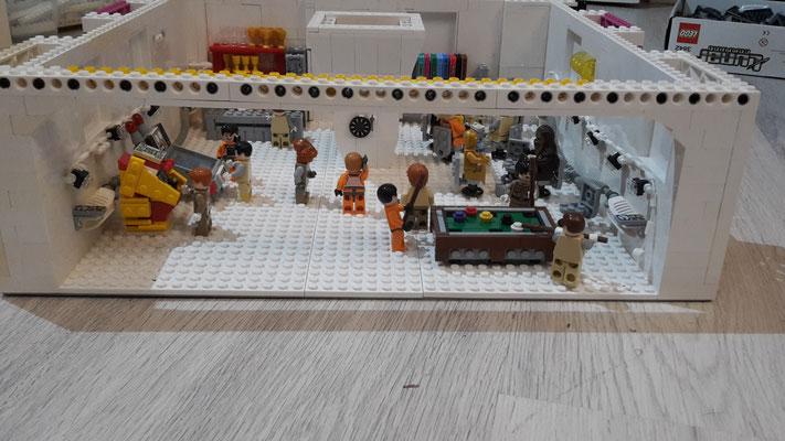 LEGO Star Wars Hoth Rebellen Echo Basis Freizeitraum Pausenraum