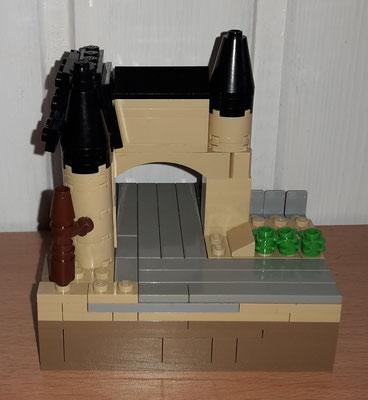 Lego Traben Trarbach Micro Brückentor