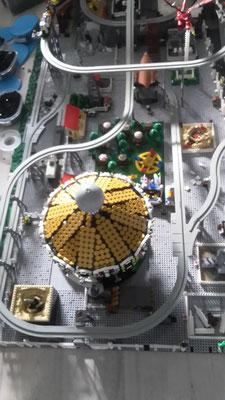 Lego Monorail Geisterbahn MoRaSt Freizeitpark Star Wars