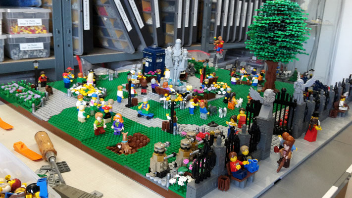 LEGO Doctor Who im Park