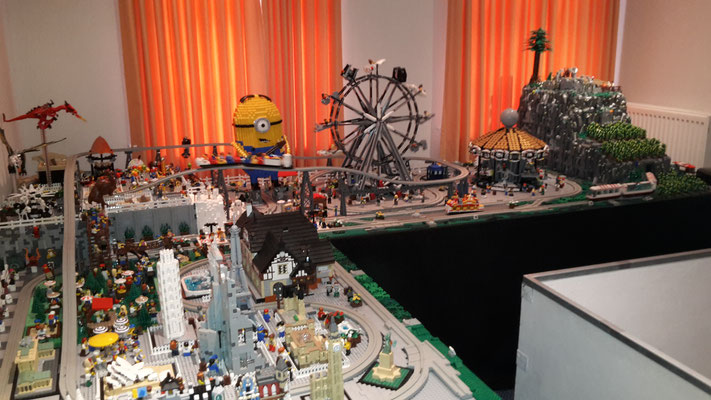 Lego Monorail MoRaSt Traben-Trarbach  Freizeitpark übersciht