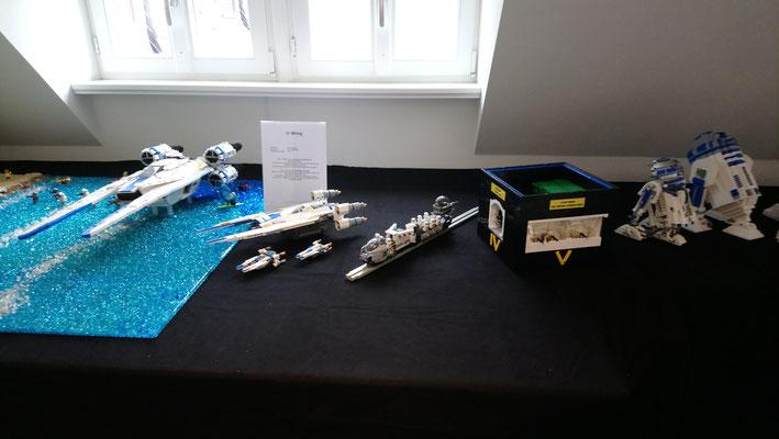 LEGO Star Wars Scarif Strand mit U-Wing