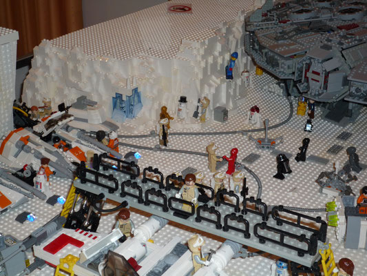 LEGO Star Wars Hoth Rebellen Echo Basis