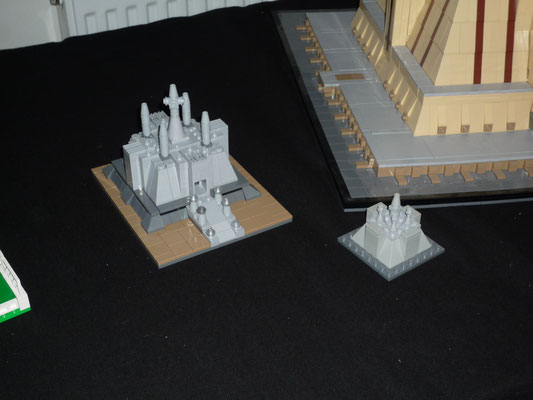 Lego Star Wars Jedi Temple in Architecture Styl Mini und Micro