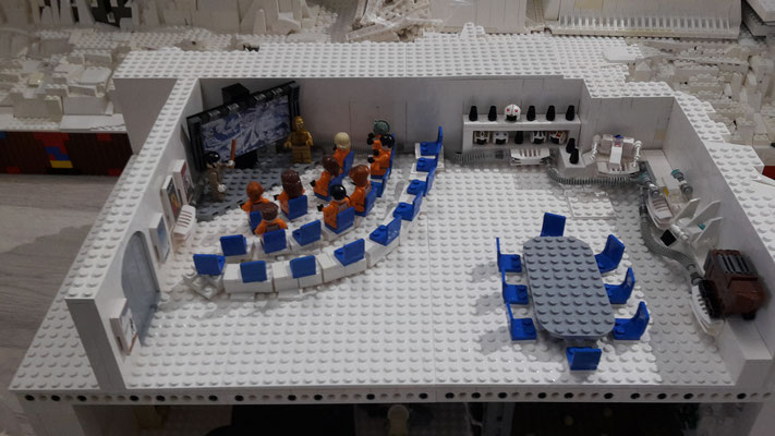 LEGO Star Wars Hoth Rebellen Echo Basis Besprechungsraum