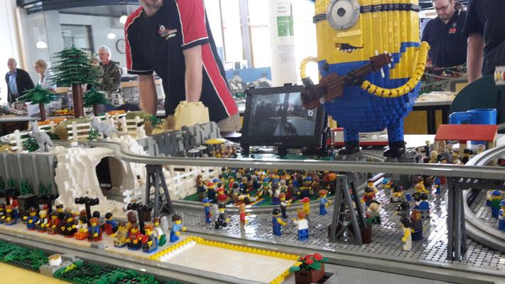 Lego Monorail MoRaSt Freizeitpark Star Wars Zoo Kino