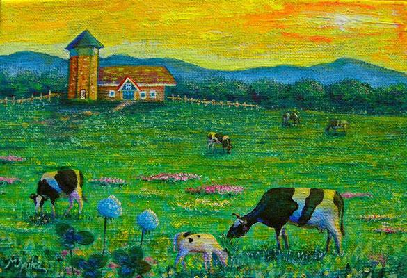 牧場の朝  SM  sold out