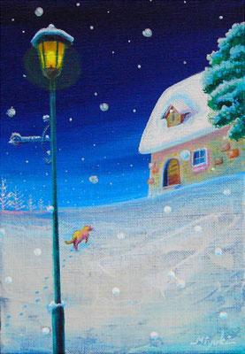 《雪降る夜 》SM  sold out