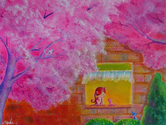 窓際の春  A4   sold out