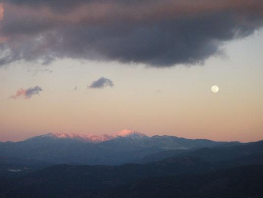 Luna llena, Sierra de Las Nieves