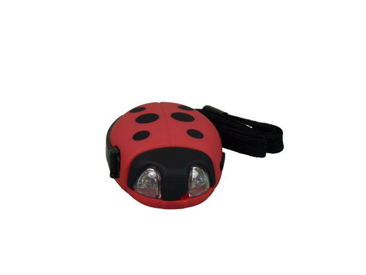 Ladybug Kindertaschenlampe ohne Batterien