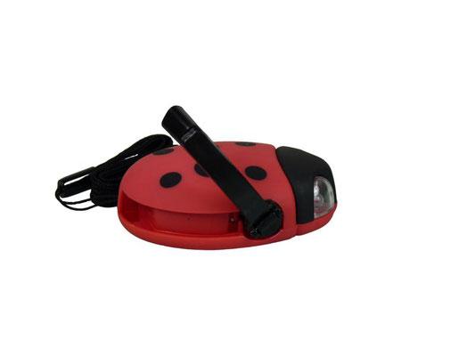 Ladybug Kindertaschenlampe mit Dynamo