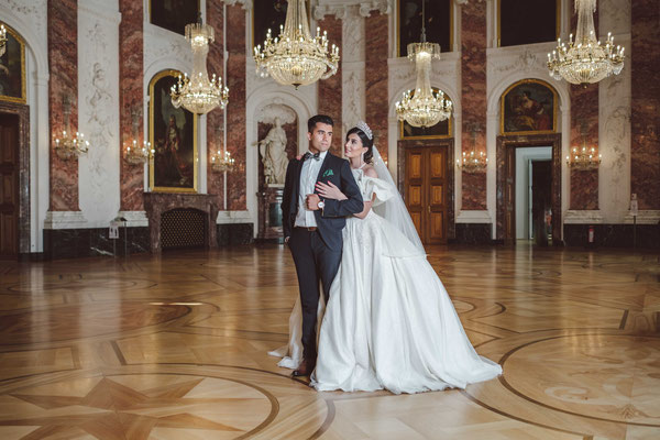 Hochzeitsreportage im Mannheimer Schloss