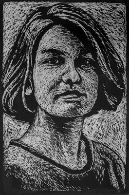 L.H. 2014 - 105 x 70cm