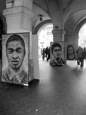 Kunstaktion Kornhaus Bern 8. Februar 2014