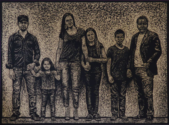 Familie M. - Deutschland - Dominikanische Republik - Libanon - face of berne 2014