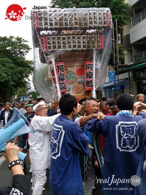2017年 横浜開港祭 みこしコラボレーション「河岸睦」YH17_016