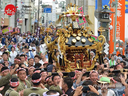 〈八重垣神社祇園祭〉砂原町区 @2017.08.05 YEGK17_045