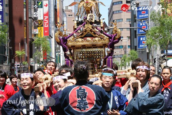 〈烏森神社例大祭〉氏子神輿渡御 @2012.05.05