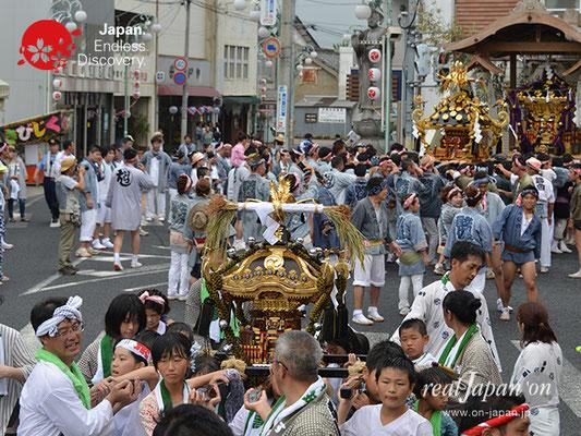 〈八重垣神社祇園祭〉砂原町区 @2017.08.05 YEGK17_022