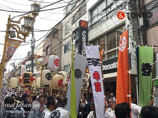 旗岡八幡神社 宮神輿完成披露渡御 2017年7月16日 HHJMM_001