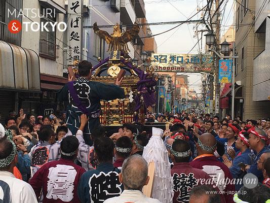 旗岡八幡神社 宮神輿完成披露渡御 2017年7月16日 HHJMM_017