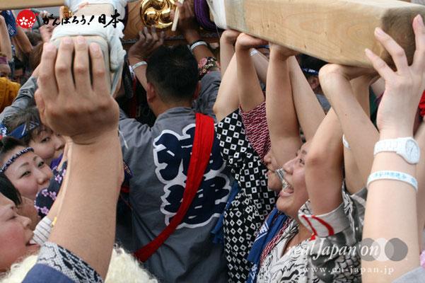 浦安三社祭〈猫実五丁目〉差し回り @2012.06.17