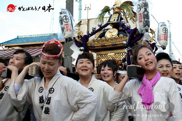〈八重垣神社祇園祭〉田町区 @2012.08.04