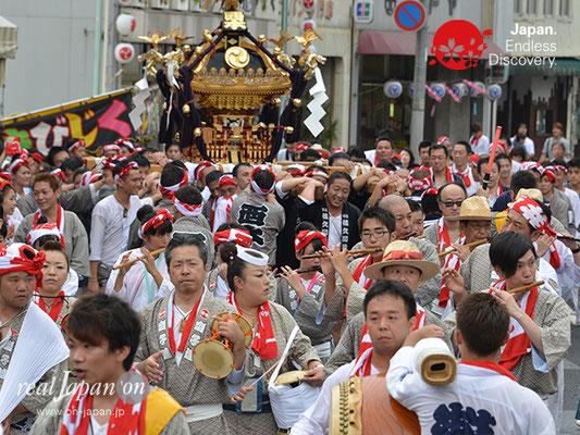 〈八重垣神社祇園祭〉西本町区 @2017.08.05 YEGK17_024