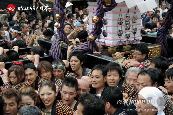 三之宮・本社神輿渡御〈浅草中〉@2013.05.19