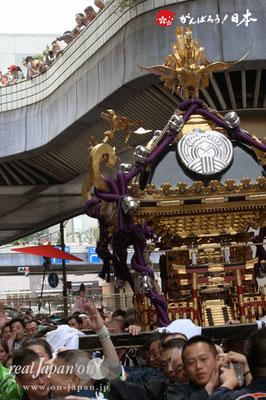〈下谷祭〉本社神輿渡御(上野駅付近)@2012.05.13
