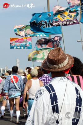 〈羽田まつり・各町神輿連合渡御〉@2012.07.29