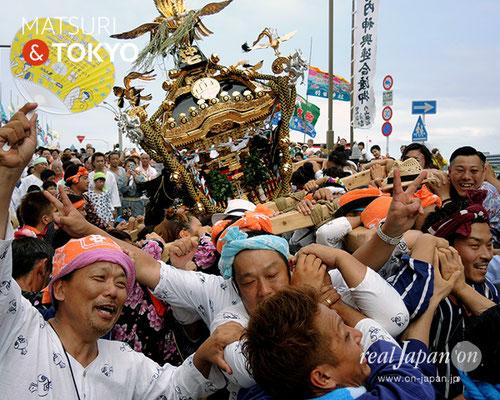 平成29年度「羽田まつり」仲七 町会 2017年7月30日 HND17_002