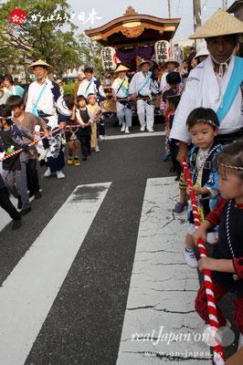 浦安三社祭〈清龍神社山車〉@2012.06.17
