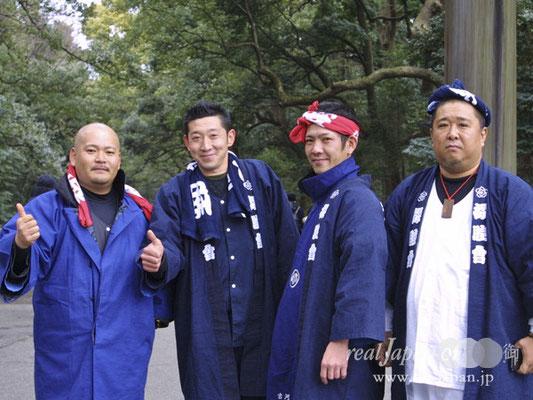 櫻睦會さん。オススメの祭は、茨城県古河市で10月第2土日開催予定の「関東ド・マンナカ祭」。関東のど真ん中にあるのでど真ん中祭。