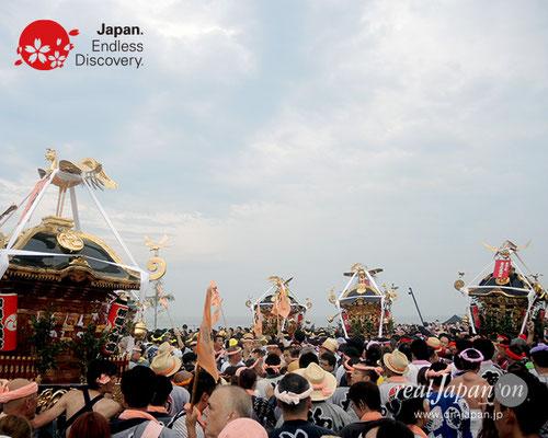 2017年度「浜降祭」柳島 八幡宮 2017年7月17日 HMO17_033