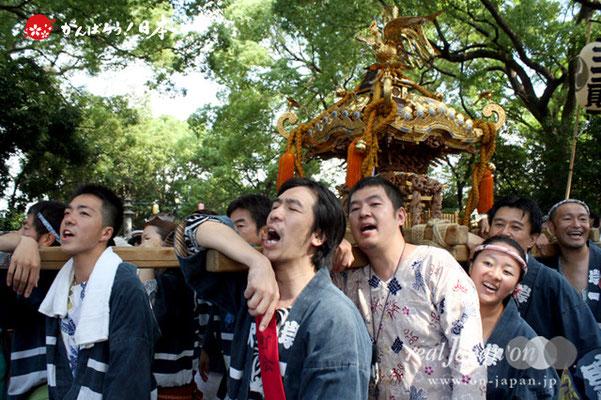 〈王子神社例大祭〉岸町一丁目町会 @2012.08.05