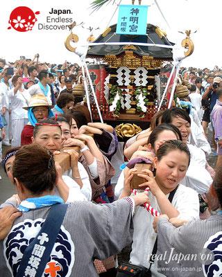 2017年度「浜降祭」十間坂 神明宮 2017年7月17日 HMO17_024